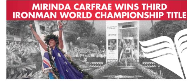 TYR, 2014 Ironman World Championships