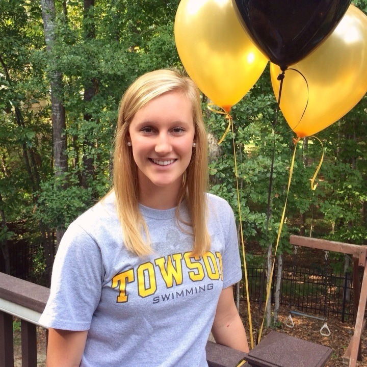 Towson Adds Depth to Distance Group with Triangle Aquatics Club Cami Andreini's Verbal