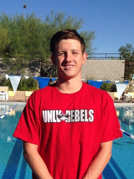 Arizona Distance Freestyler Charles Klein Verbally Commits to UNLV