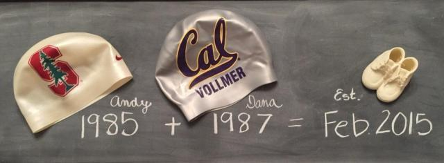 Vollmer Cal announcement baby