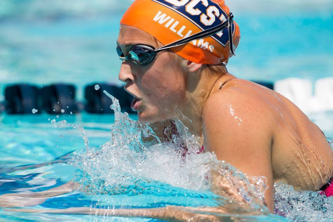 Jr. Pan Pacs Medalist Kim Williams Verbally Commits to Stanford