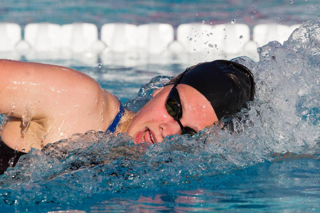 Nunan takes 200 free in debut, Minnesota wins 25 of 28 races in rout of Hawaii