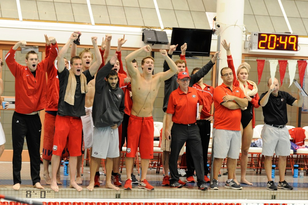 Georgia blows out Florida at home, taking 23 of 32 events