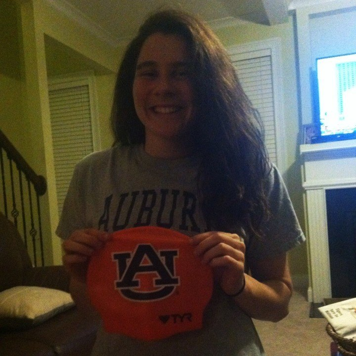 Money to the Tigers: Auburn picks up verbal from Carolina Aquatics' Katie Money