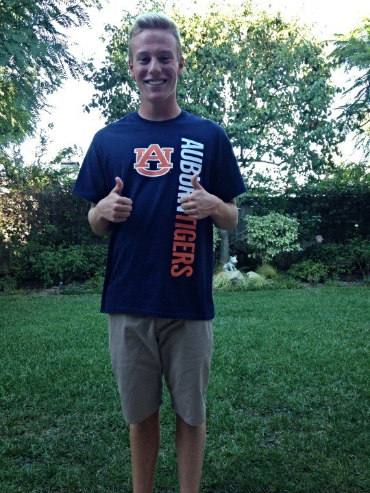 Auburn nabs California butterflyer/freestyler Liam McCloskey in recruiting