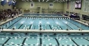 Host Northwestern Extends Leads Through Day of 2018 TYR Invite