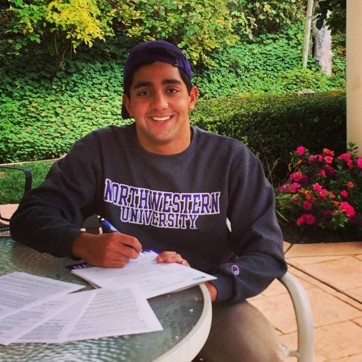 Northwestern Wildcats Land Commitment From Talented Sprint Butterflier/Freestyler Arjun Sharma
