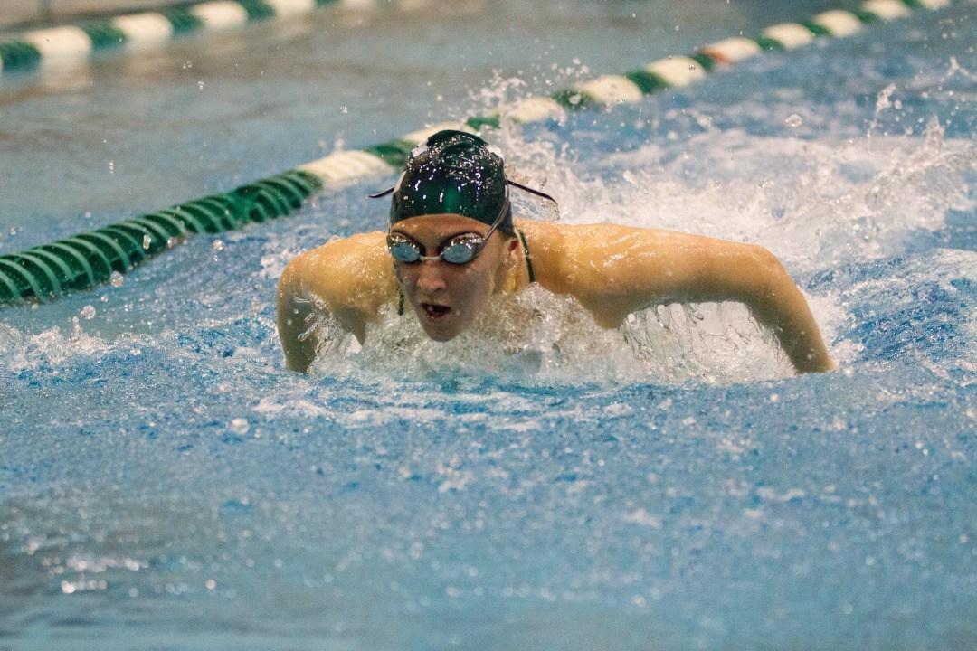 Eastern Michigan Swim and Dive ties Oakland University, falls to Bowling Green State University