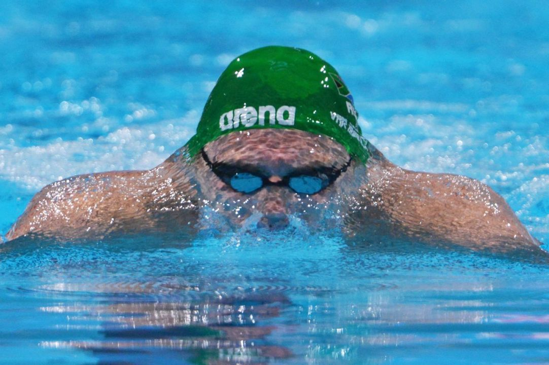 Van Der Burgh Wins 100 Breaststroke in Durban