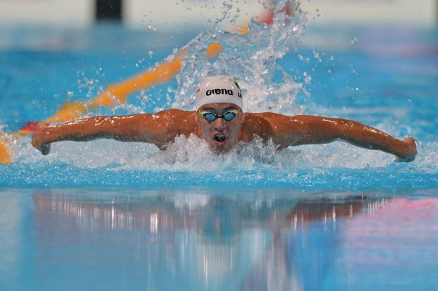 Chad Le Clos, (courtesy of Arena International)