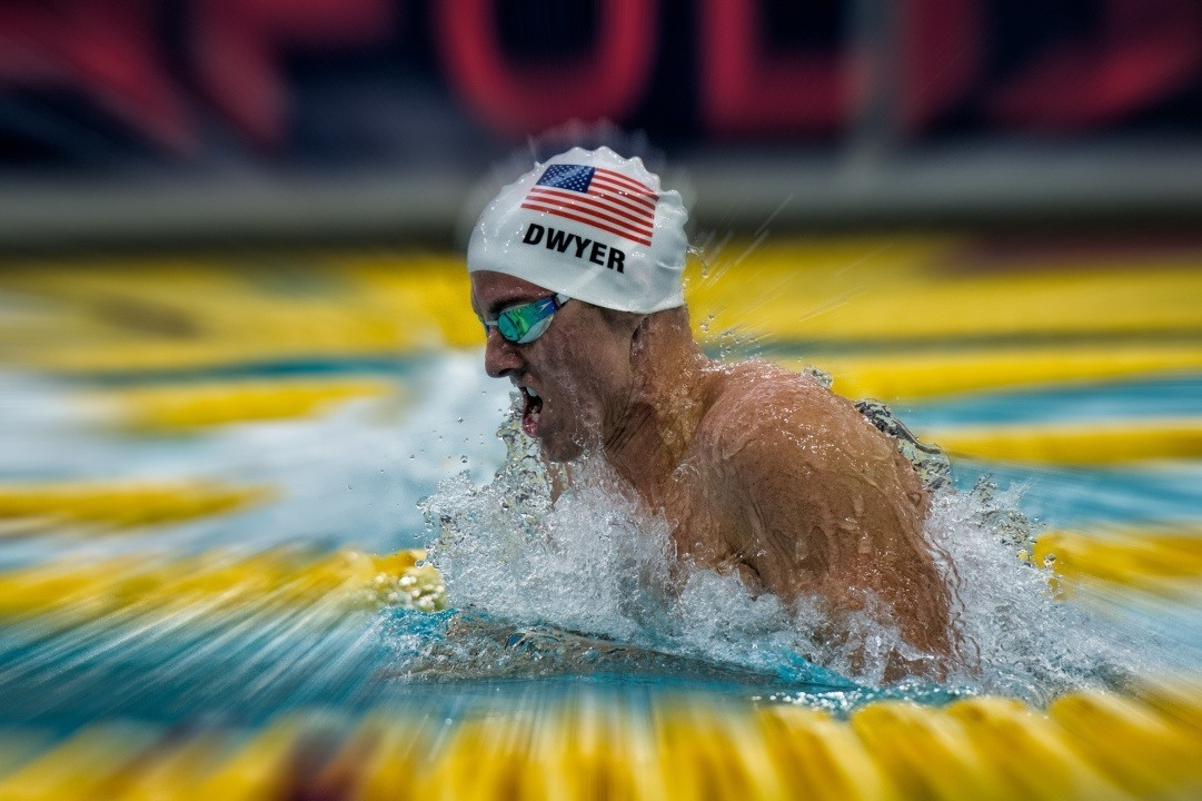 Minneapolis Grand Prix Day One Prelims: Conor Dwyer Qualifies For Three Finals