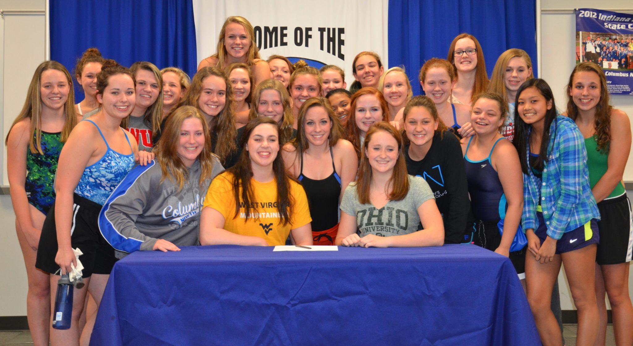 nli signing photos georgetown prep scottsdale aquatic club and more