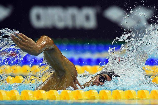 Gregorio Paltrinieri, (courtesy of Arena International)