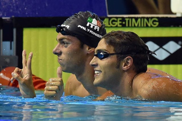 Gregorio Paltrinieri & Gabriele Detti, (courtesy of Arena International)