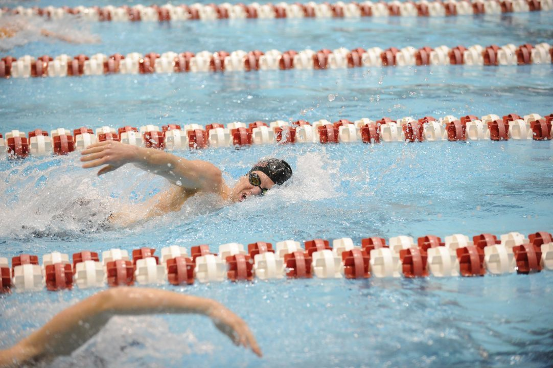 Cornell Men Impressive in Loss to Harvard at Tri-Meet with Dartmouth