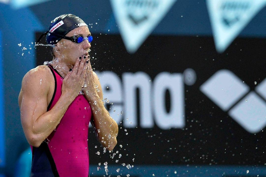 Katinka Hosszu Entered in All 17 Events; Olympic Nice to Race at Indian Ocean Meet