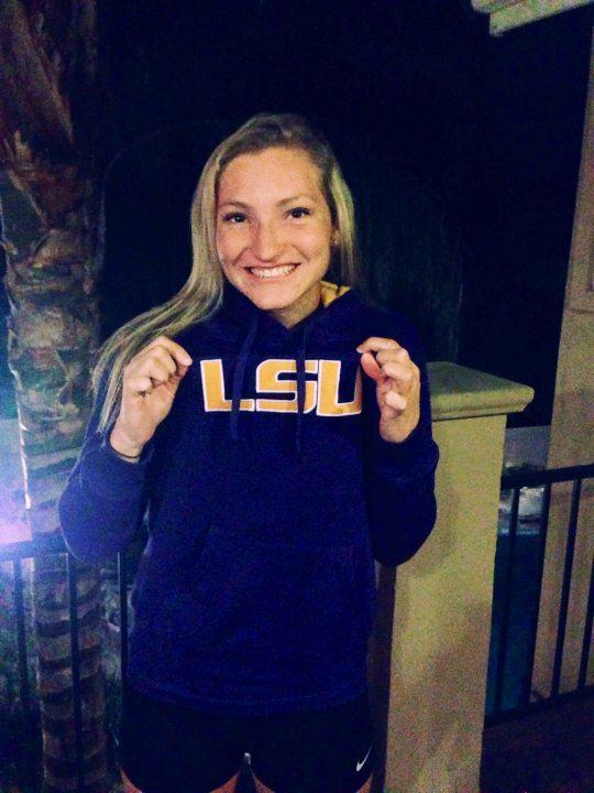 Sierra Marlins Sprinter Summer Spradley Makes Verbal Commitment to LSU Tigers