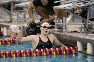 MacLean Triples, UGA Women Top Wisconsin For 100th Straight Home Win
