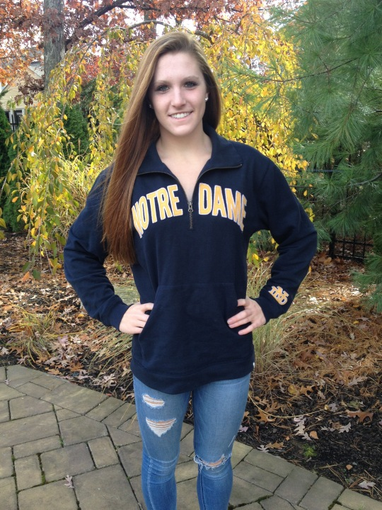 New Jersey's Meaghan O'Donnell to Join the Notre Dame Fighting Irish