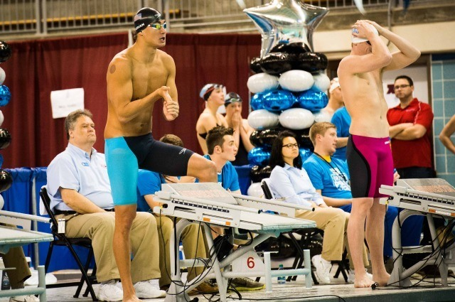 Nathan Adrian going distance in the 200 free (photo: Mike Lewis, Ola Vista Photography)