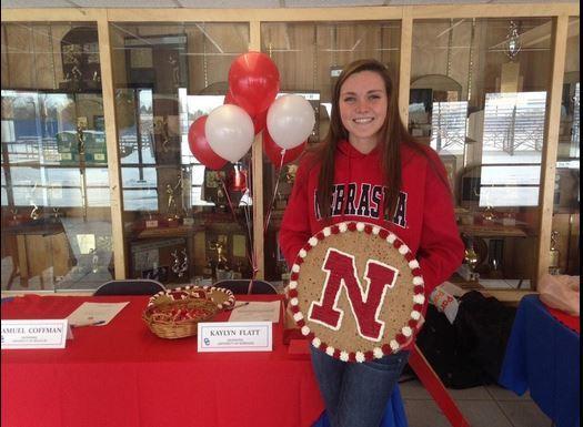 Colorado Distance Freestyler Kaylyn Flatt Signs with Nebraska