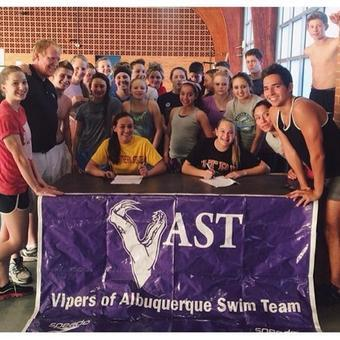 Vipers of Albuquerque Teammates Sign NLIs; One Headed to NSU, the Other to UTPB