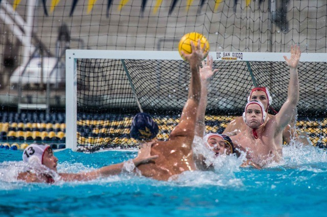 UCSD versus Brown 2014 NCAA Championship play in game (photo: Mike Lewis, Ola Vista Photography)