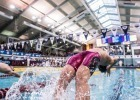 Michael Andrew off the blocks in the 100 back prelims (photo: Mike Lewis, Ola Vista Photography)