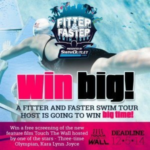 Fitter and Faster, Touch the Wall contest, Nov 2014