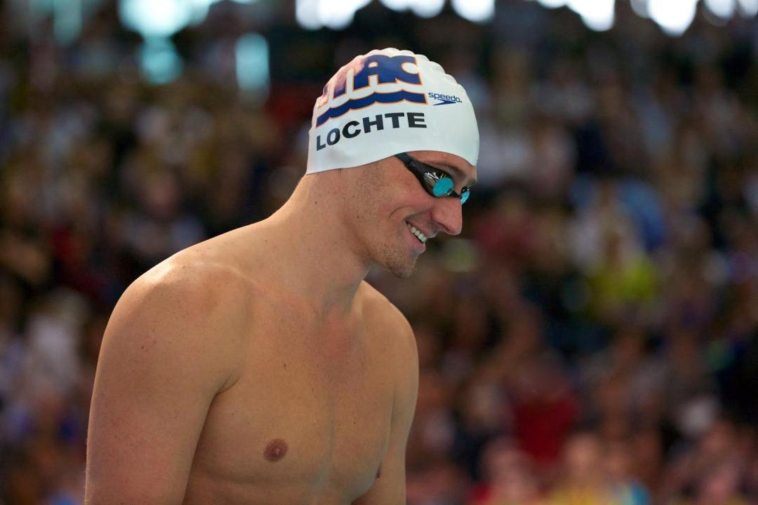 Ryan Lochte Takes DQ And Swims 50m Freestyle Entirely Underwater