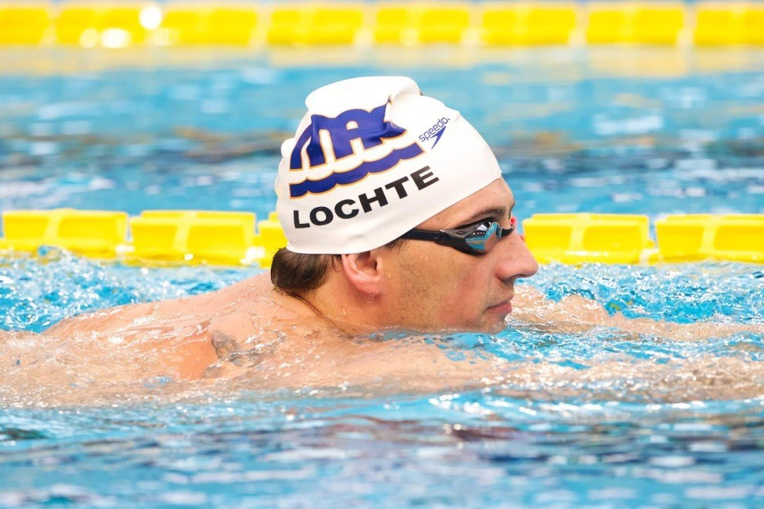 Ryan Lochte Plans to Swim all 7 Entries at PSS – Mesa