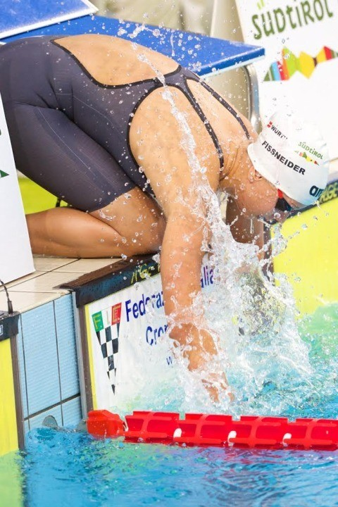 Italian Lisa Fissneider Goes Sub-1:01 in 100 Breast in First-Ever Yards Meet