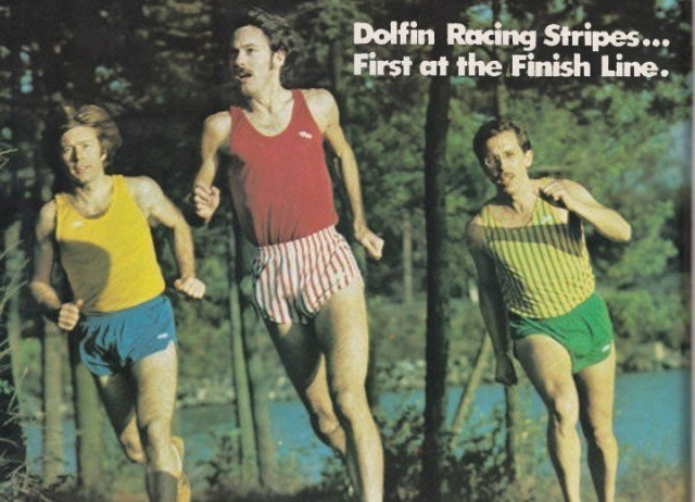 1978 Track – Dolfin running wear takes off in the 1970's