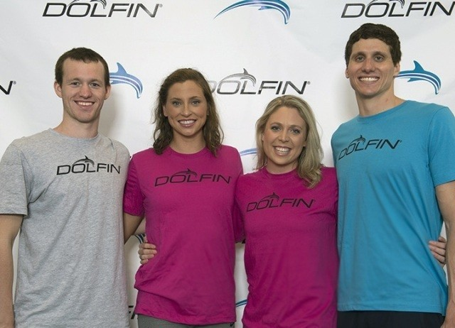 Athletes – Dolfin increases its sponsorships of elite athletes and coaches as the brand gains momentum in competition swim