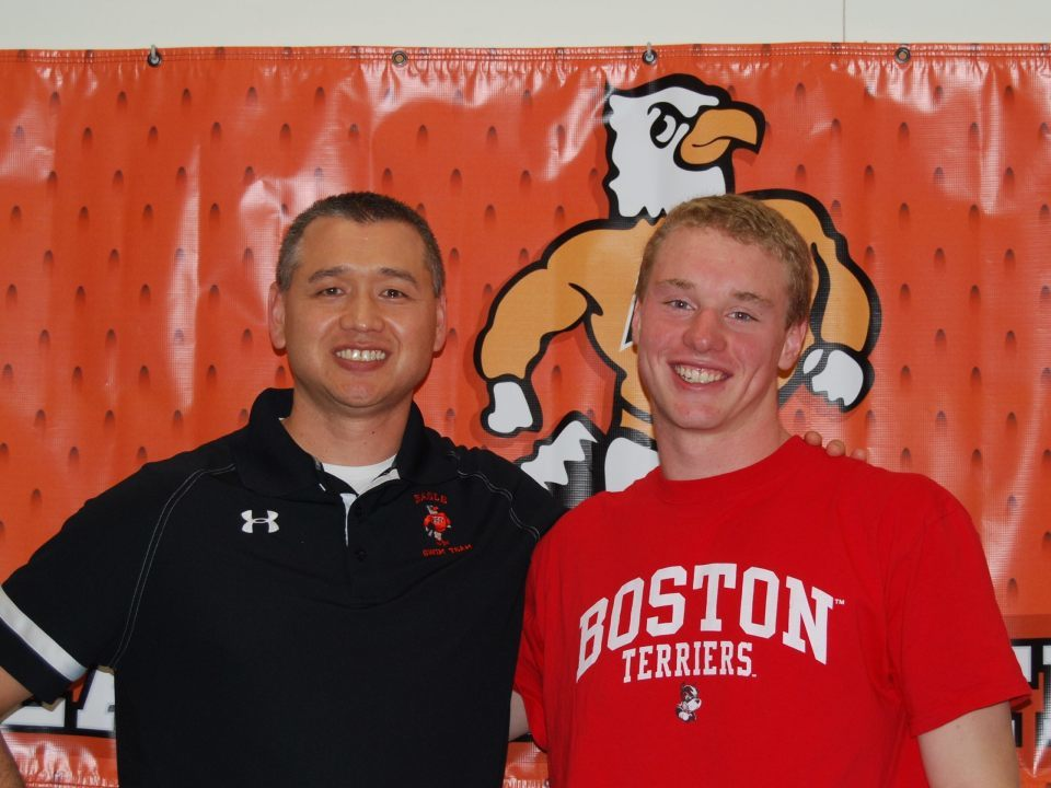 Boston University Signs Rising Fly/IMer Alex Ewart of Eagle Swim Team