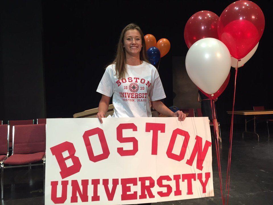 Phoenix Swim Club's Allison Winter Signs with Boston University