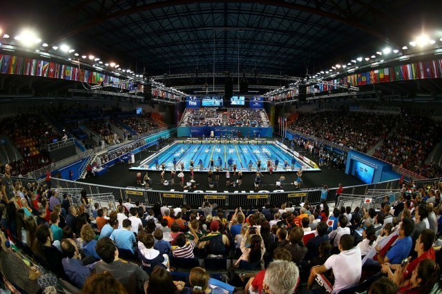 Capacity crowds turn out again at Hamad Aquatic Centre