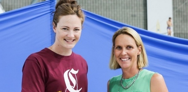 Cate Campbell (left) and Susie O'Neill (right). Courtesy: Swimming Australia