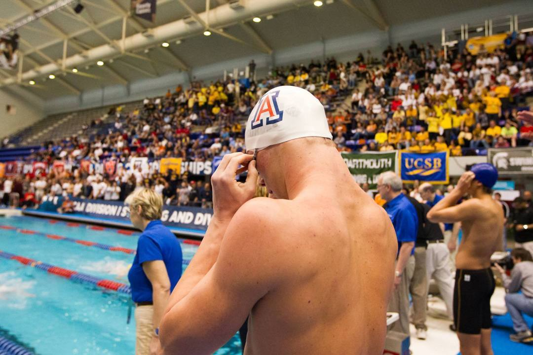 2015 M. NCAA Picks: Kevin Cordes Seeded Fifth In The 200 Breaststroke; Has A Target On His Back