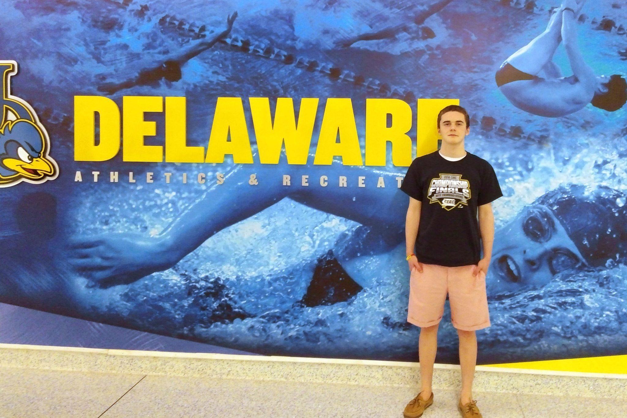 Connecticut Butterflier Robert Adams Michaud Signs With University Of Delaware