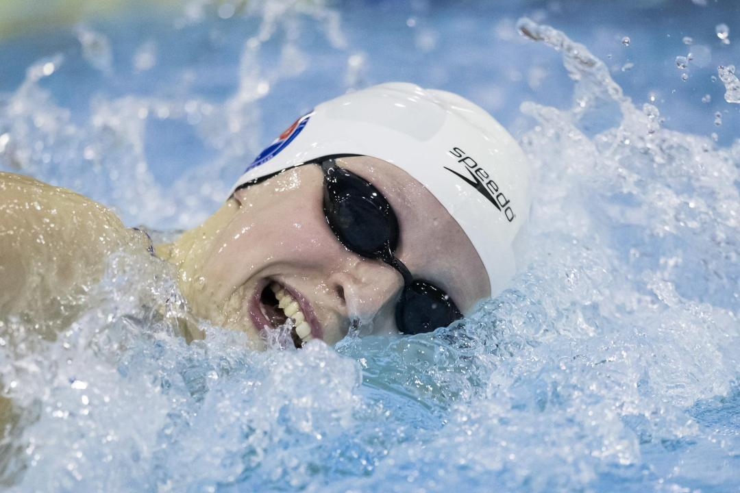 Distance fireworks: Ledecky and Jaeger break American mile records on day 4 of 2014 Winter Nats