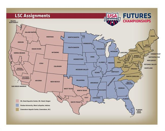 "USA Swimming Announces Dates, Locations, Standards for Inaugural ""Futures"" Championships"