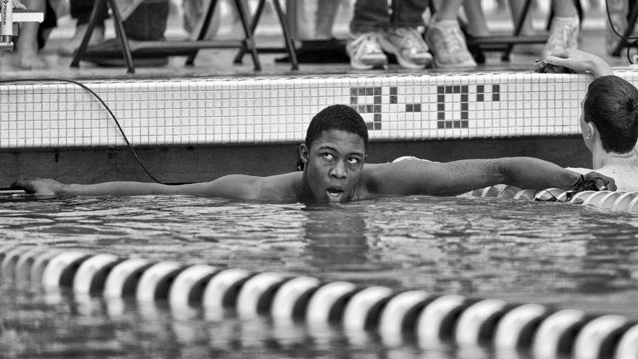 Reece Whitley lowers 13-14 100 breast NAG even further with 53.06 at Tom Dolan final