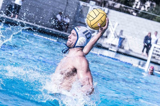 UCSD's Josh Stiling lead the Tritons with 4 goals (photo: Mike Lewis, Ola Vista Photography)