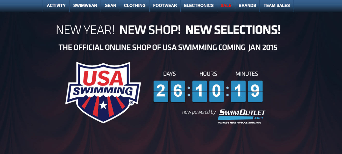SwimOutlet.com Named as Official Online Store of USA Swimming