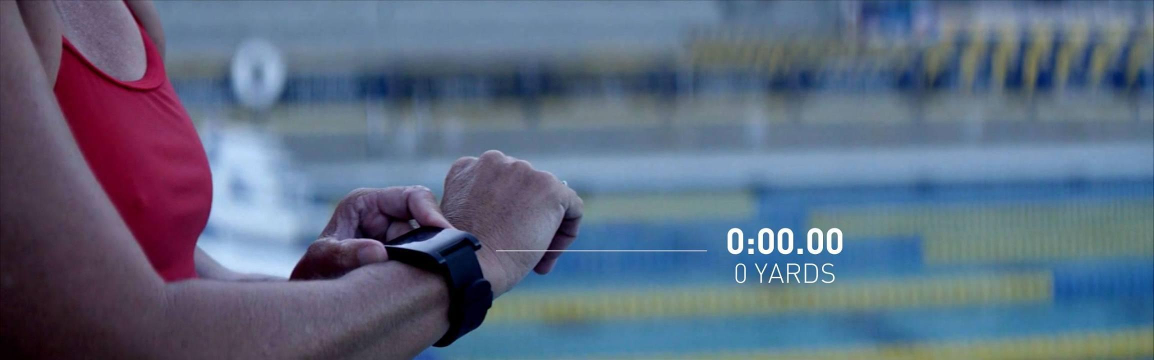 Testing the Pebble Watch on Swim.com