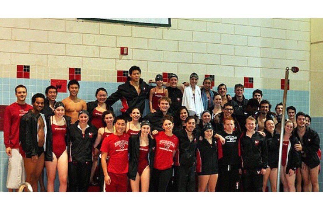 Wesleyan University Swimming and Diving Team Welcomes New Member