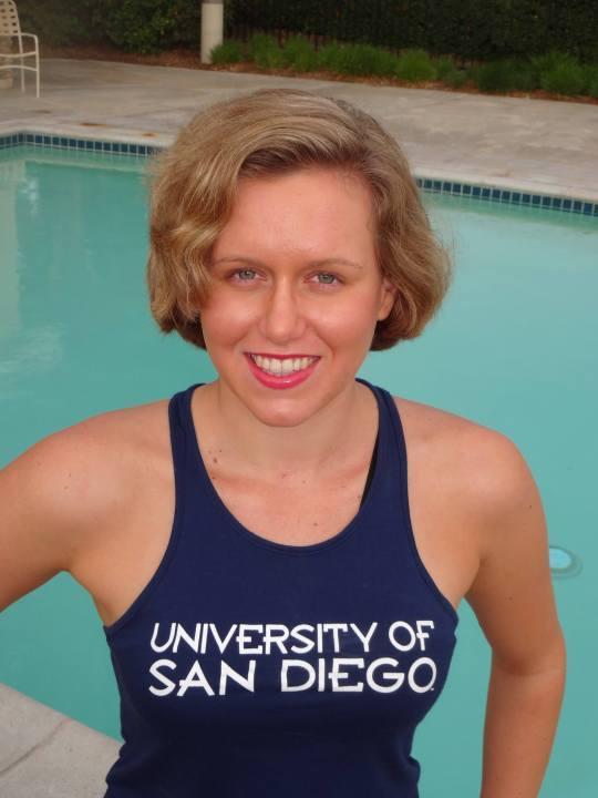 University of San Diego Receives Commitment from Socal Backstroker Liza Kuznetsova