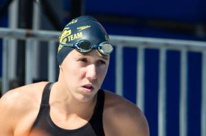 WATCH Abbey Weitzeil Swim Fastest 50 Yard Free in History