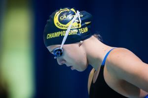 Abbey Weitzeil Misses 50 Free American Record By .01 in Austin